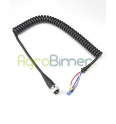 Cable rizado f-3000/3002 5 pines