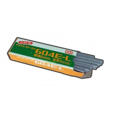 Caja de grapas 604E para atadoras de cinta